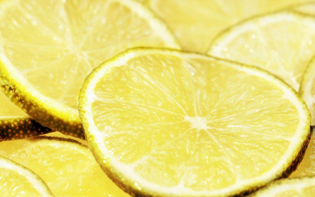 5 Gründe, wieso du immer Zitronen zu Hause haben solltest